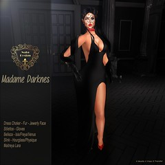Nala Designs - Madame Darkness -  Exclusive for Scala Ying Yang Event.