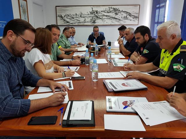 Reunión Junta Local Seguridad Los Palacios y Vfca