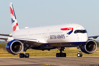 British Airways Airbus A350-1041 cn 340 F-WZFS // G-XWBB