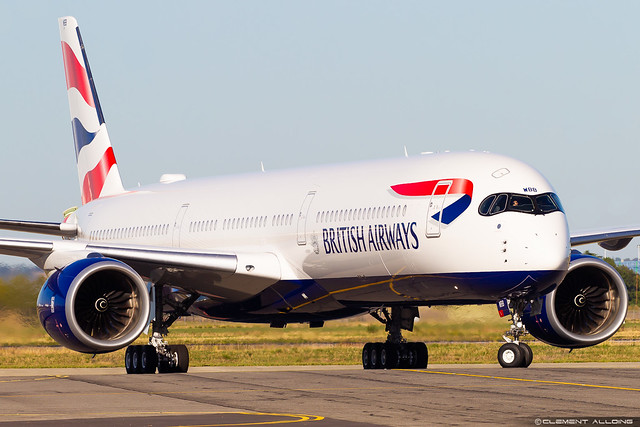 British Airways Airbus A350-1041 cn 340 F-WZFS // G-XWBB