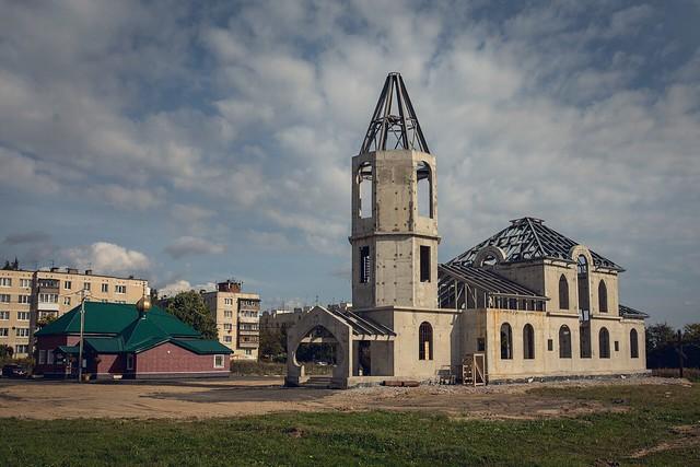12 сентября 2019 г. Литургия в Александро-Невском храме