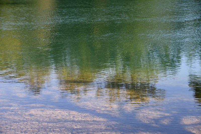 River Aare Shadows 12.09.2019