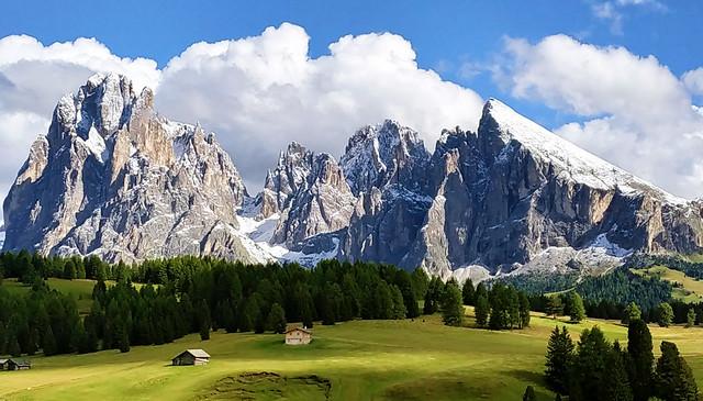 Sur l'Alpe de Siusi