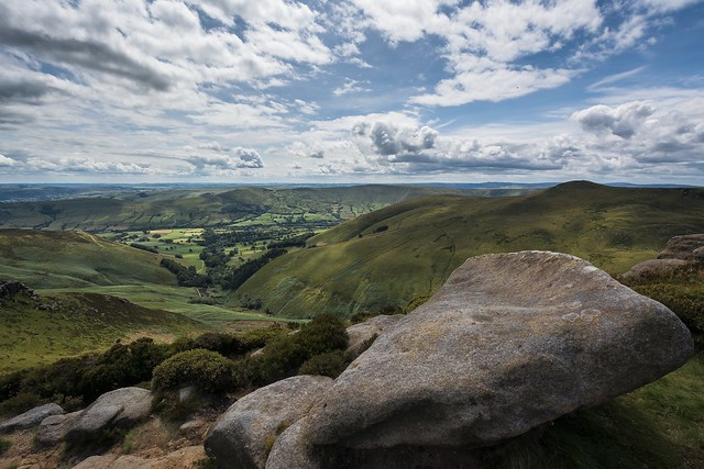Hope Valley from Kinder Scout