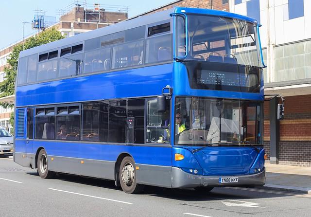 Vision Bus OmniCity Scania N230UD YN08 MKX