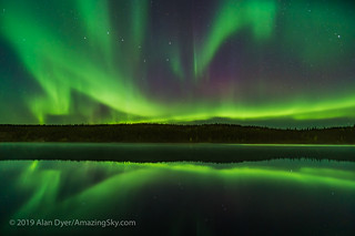 Aurora Reflections at Madeline Lake #6