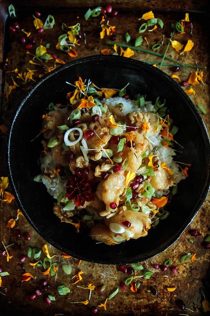 Crispy Honey Wlanut Shrimp (gluten-free and no-mayo!) from HetaherChristo,com