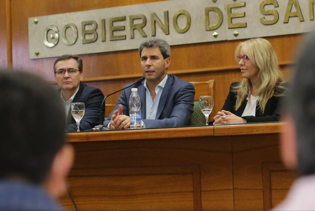 2019-09-12 PRENSA: Firma de Acta Complementaria – Convenio Multilateral para el Desarrollo de Capacidades Locales en la Cadena de Valor Minera  en los Departamentos de Jáchal e Iglesia  – Lanzamiento del  Programa Agrícola Campaña 2019/20.