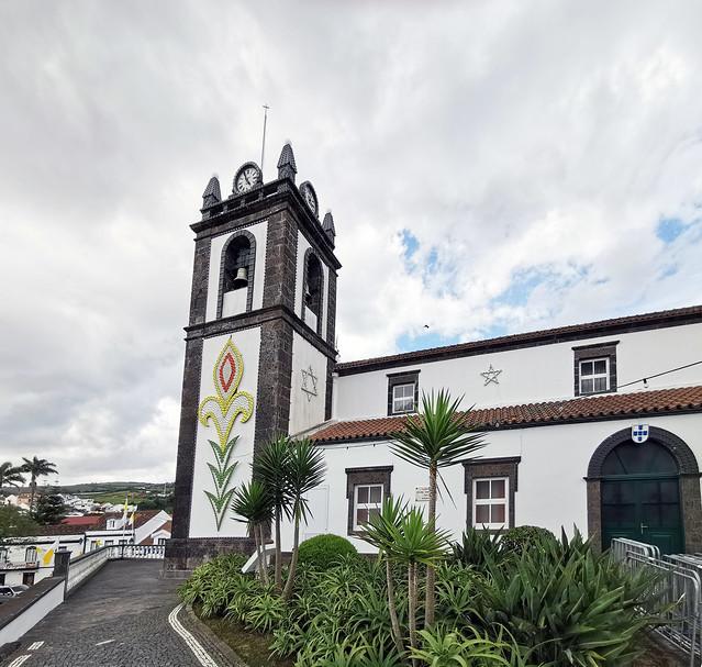 Iglesia de Nossa Senhora dos Anjos Agua de Pau Isla San Miguel Azores Portugal 02