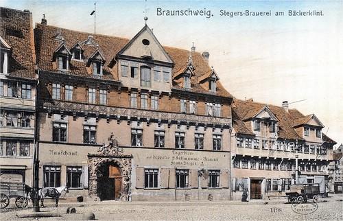 Braunschweig: Stegers Brauerei am Bäckerklint.
