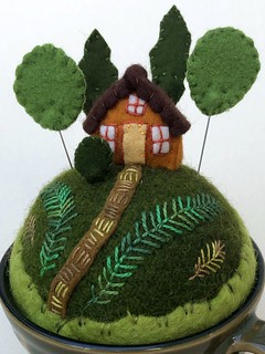 Cabin in the Woods Pincushion