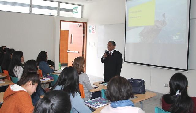 Facultad de Ciencias Contables, Económicas y Financieras desarrolló el Seminario Taller de Ciclo de Capacitación de NIIF