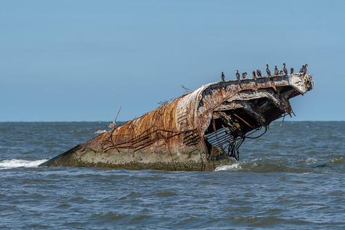 ssatlantus ship concrrete capemay nj newjersey boat