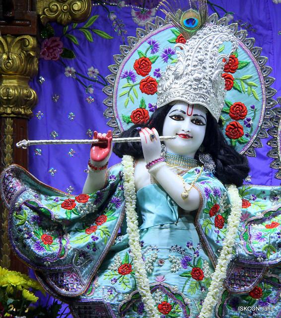 ISKCON Juhu Mangal Deity Darshan on 13th Sep 2019