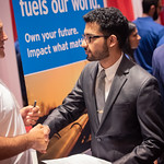 Thu, 09/12/2019 - 12:53pm - UH Cullen College of Engineering students make professional inroads at the Fall 2019 Engineering Career Fair, held at the Hilton University of Houston on Thursday, Sept. 12, 2019.
