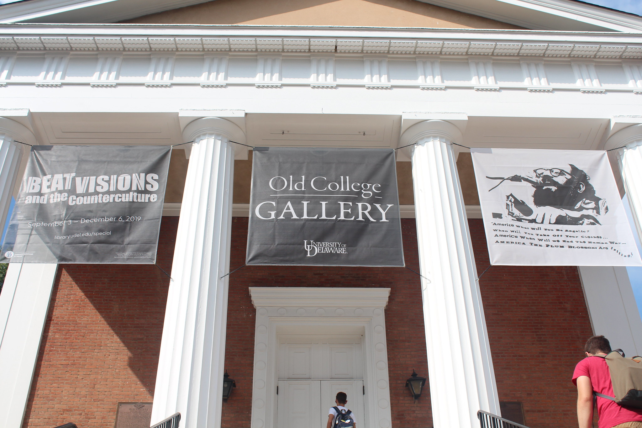 Artistry and activism: new exhibits on display at Old College