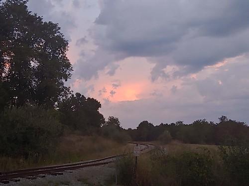 sunset sky huckleberrytrail nrv christiansburg