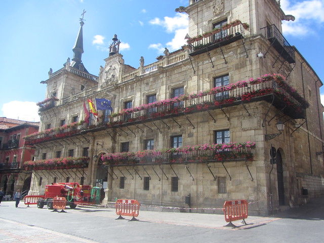 Former Town Hall, 1677, Leon, Plaza Mayor