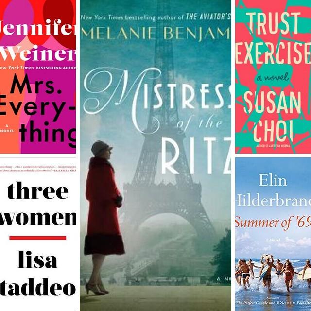 August 2019 books