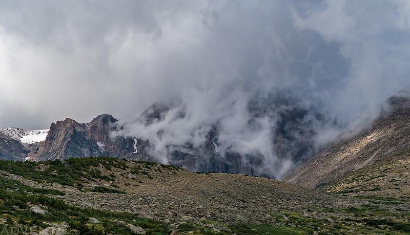 Hidden Behind Clouds