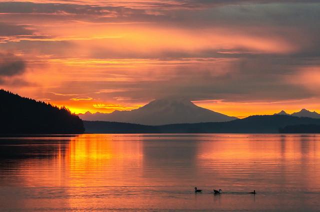 Mt Baker sunrise-3070