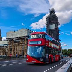 La postal del Big Ben ya la viste muchas veces... pero así de tapada a la torre quien la sube? Eh? :joy::joy: #london #uk #canong7xmarkii