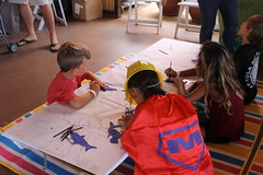 Hawaiian Electric at the first-ever Ka Piko: Celebrating Waimanalo Festival — Sept. 7, 2019: Painting activities were available for the keiki. Look! Maka, the Super Energy Saver sidekick has been spotted!