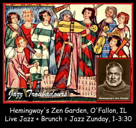 Guy Cantonwine Jazz Troubadours Zunday