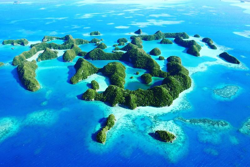 Seventy islands @ Palau