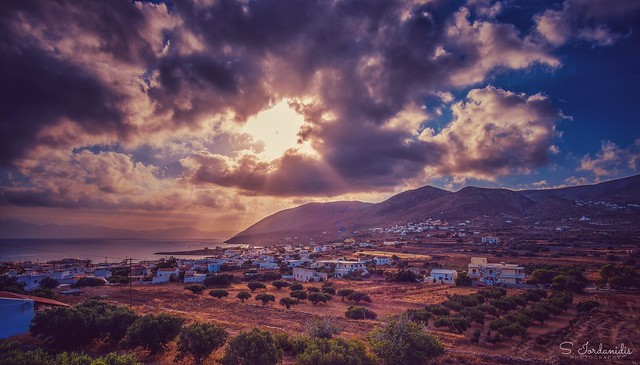 Clouds over Kasos Island