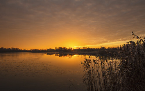 canon6d sunrise lake water nature outdoors outside calm uk cambridgeshire landscape
