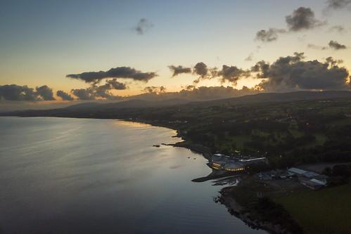 redcastle hotel loughfoyle foyle donegal countydonegal ireland flight drone dji mavicpro water