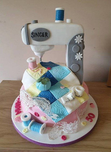 Sew Cake by Napes Cakes