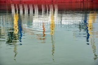 Peinture à l'eau de Seine !-)