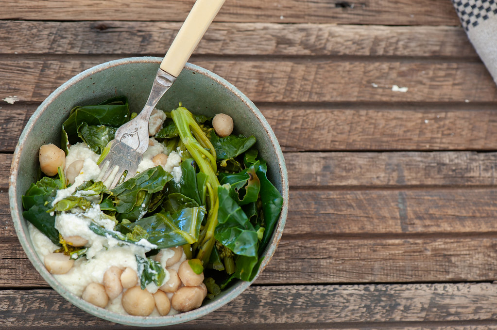 Green Bowls with Macadamia Cream-2