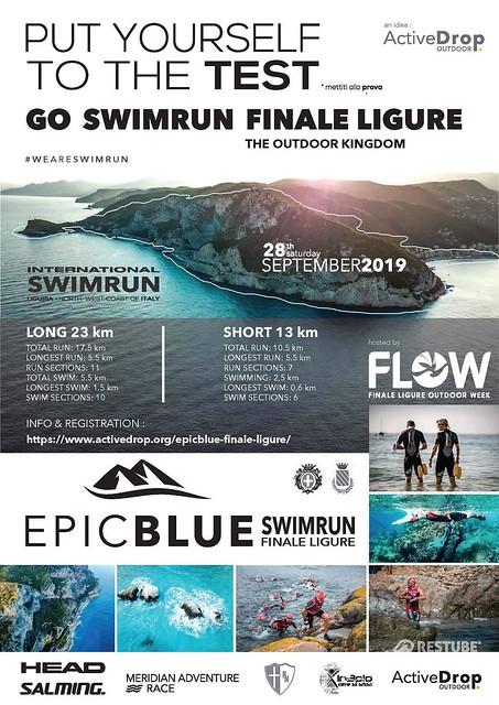 Swimrun reconnaissance Epic Blue Finale Ligure 2019