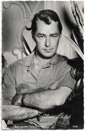 Alan Ladd in Shane (1953)