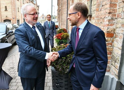 """Valsts prezidents Egils Levits piedalās """"Rīgas Drošības Foruma 2019"""" atklāšanā"""
