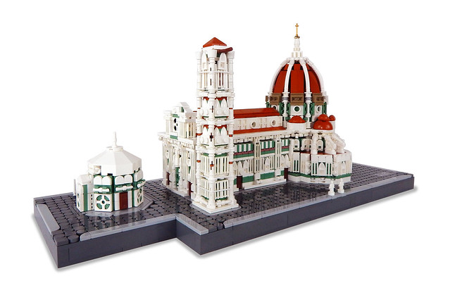 LEGO Church Cathedral Architecture