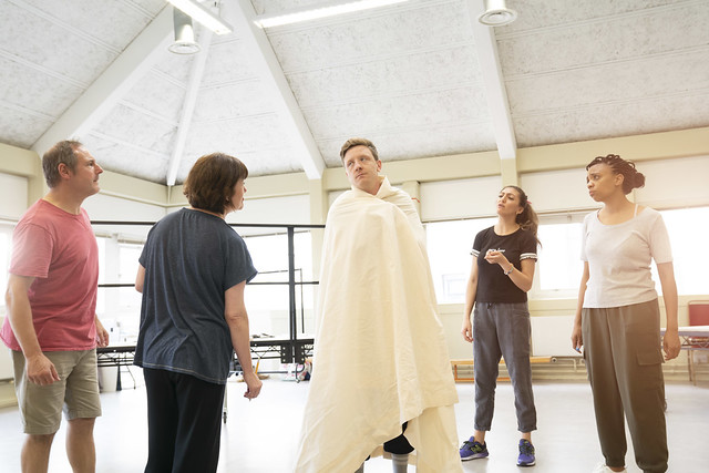 Reasons To Stay Alive Rehearsal Images