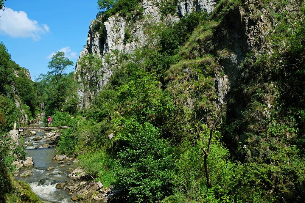 Short Hikes in Transylvania: Turda Gorge, Transylvania, Romania