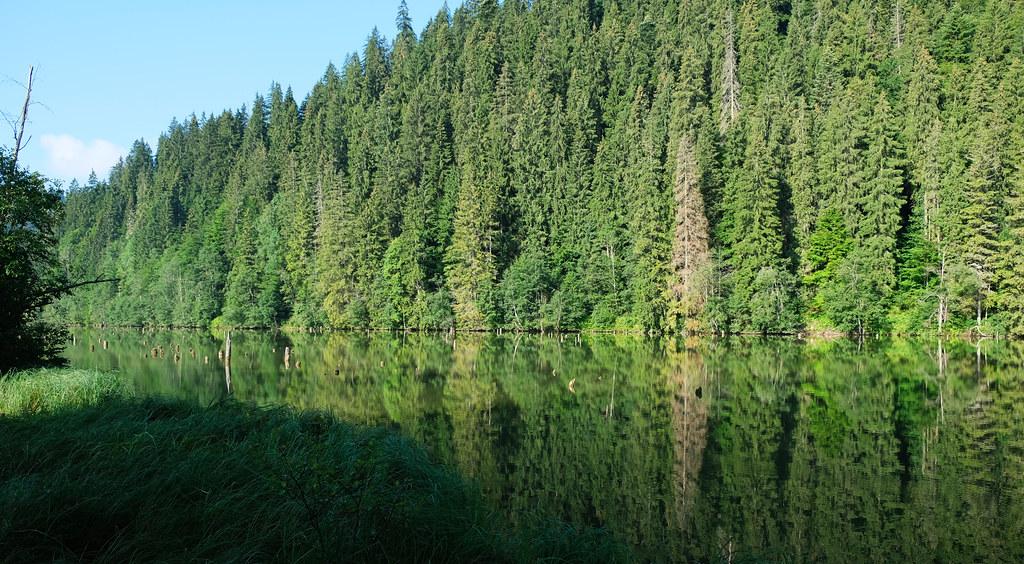 Short Hikes in Transylvania: Red Lake, Transylvania, Romania