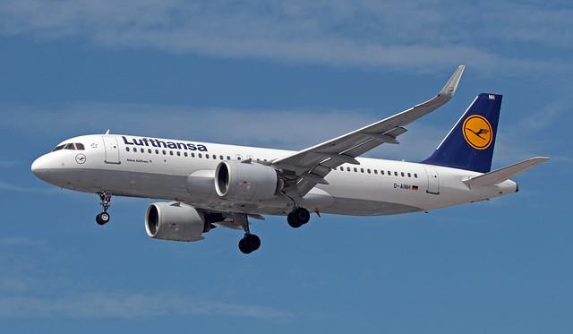 D-AINH EGLL 05-07-2019 Lufthansa Airbus A320-271N CN 7648