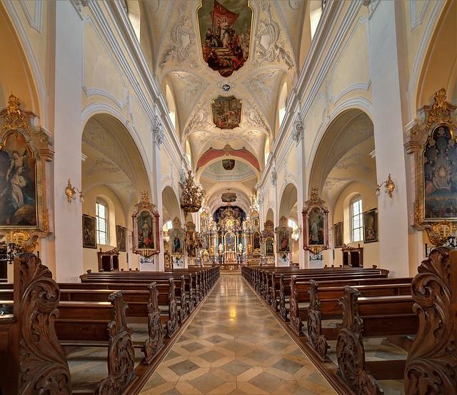 Gerlachsheim, ehem. Prämostratenserklosterkirche