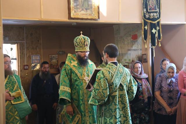 Престольный праздник в храме прп. Александра Свирского в Грайвороново