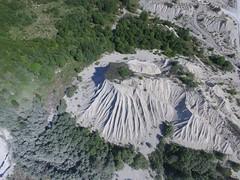 Vasalemma sõelmepuistang / Limestone fines in Vasalemma quarry, Estonia