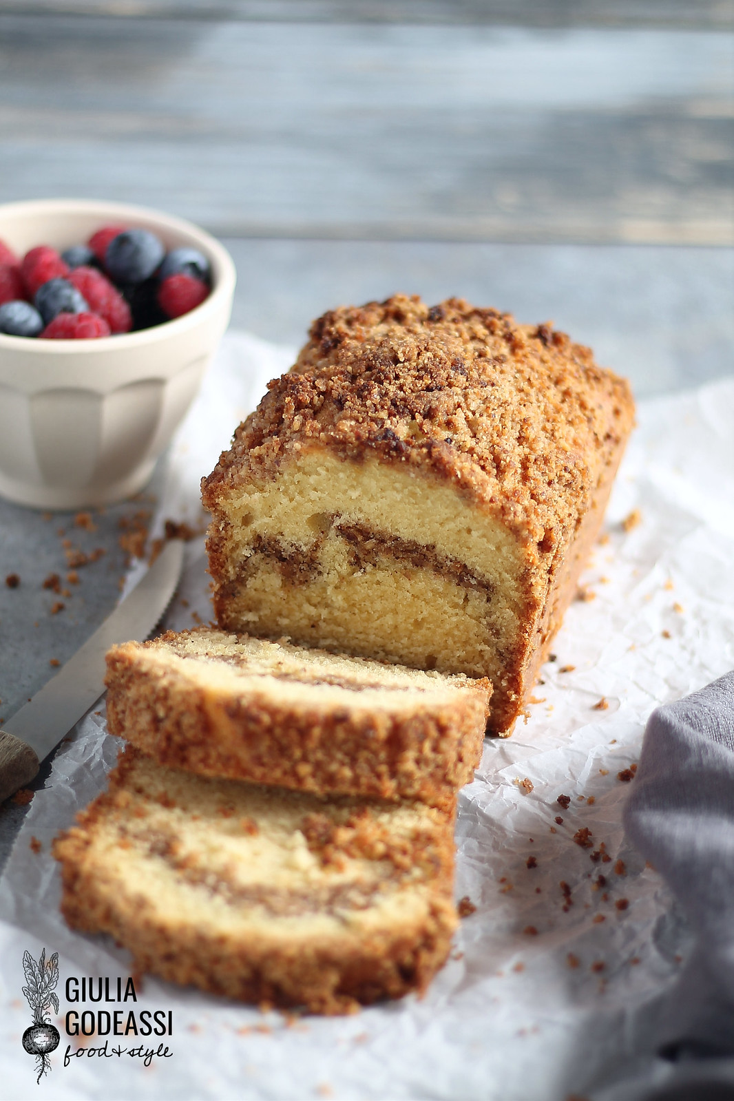 COFFEE CAKE ALLE NOCI E CANNELLA