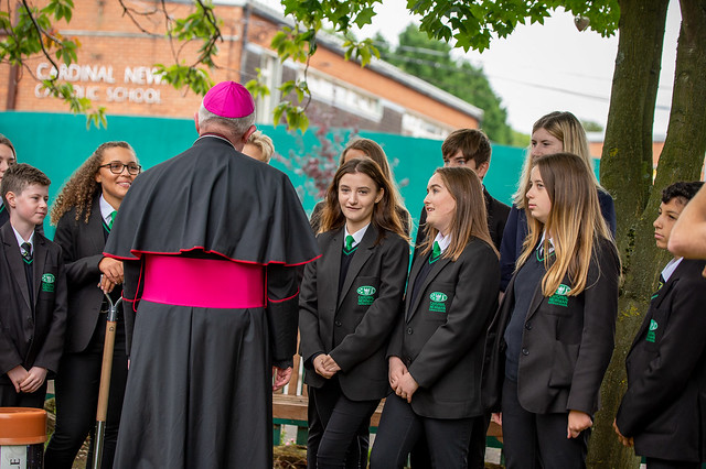Cardinal Newman School's 50th Anniversary Mass