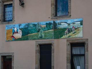 Sign of Robert Lois Stevenson - La Bastide-Puylaurent