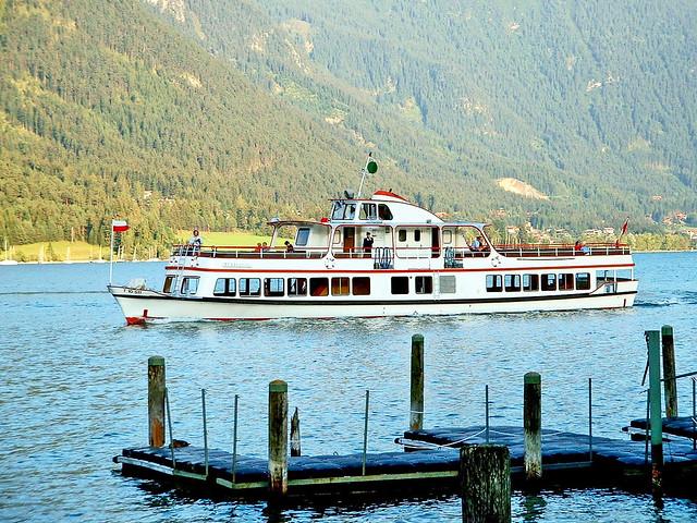 Autriche, le Tirol la flotte de bateaux du Lac Achensse